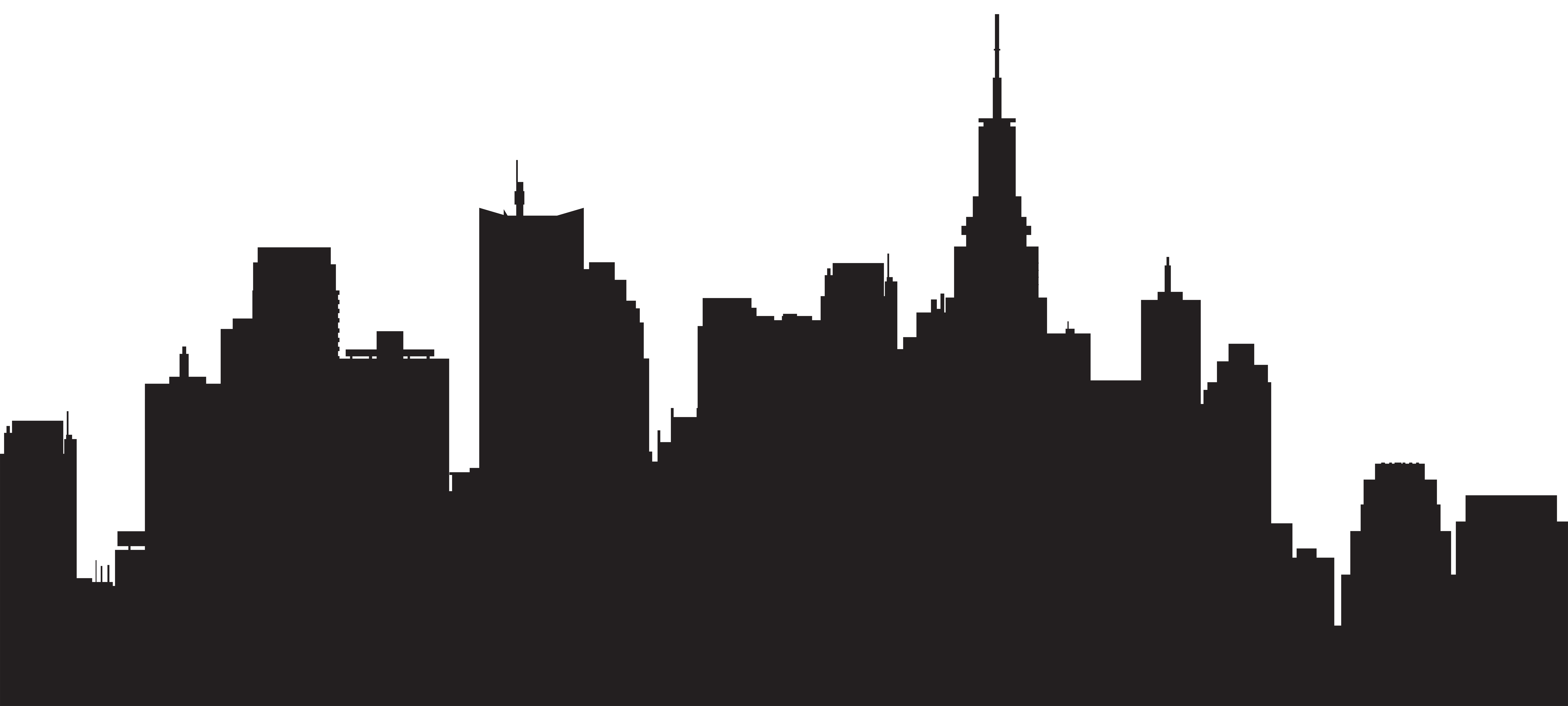 City Silhouette Clipart