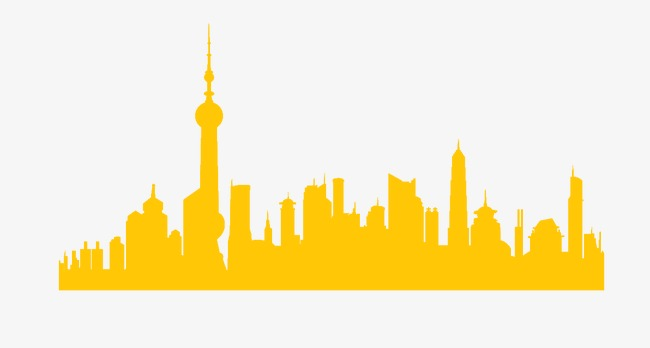 650x348 Yellow City Silhouette, Sketch, Yellow, City Png Image And Clipart