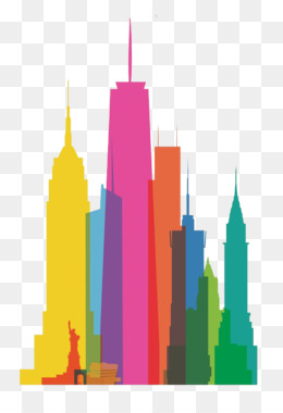 260x380 Free Download New York City Skyline Watercolor Painting Canvas