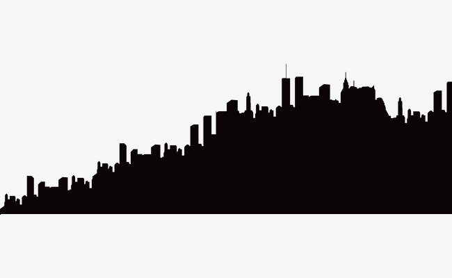 650x400 City Silhouette, City, Building, Sketch Png And Vector For Free