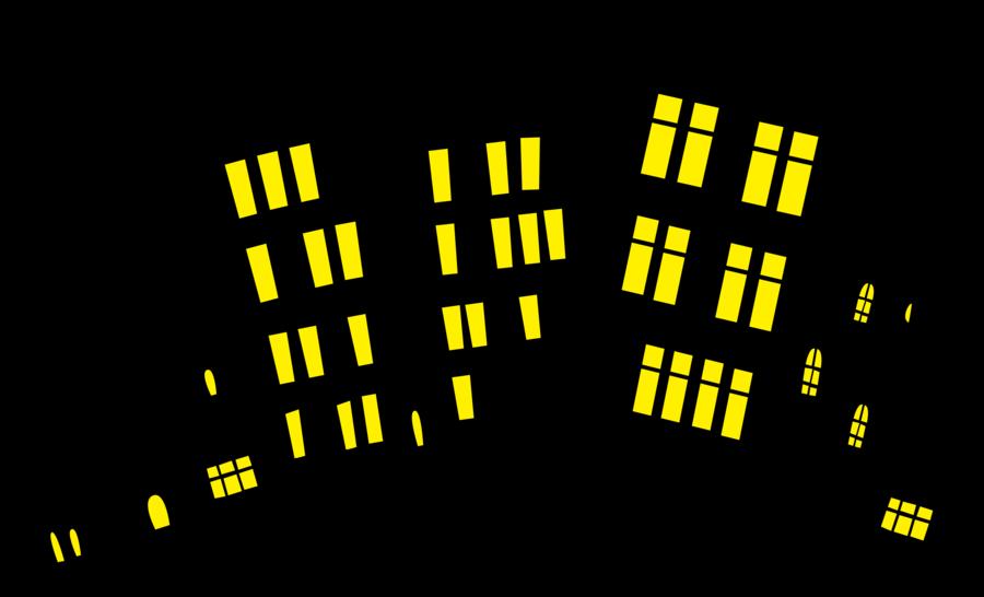 900x546 City Silhouette Full Version By Lahirien