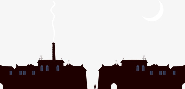 650x312 Silhouette Of City Building, City, Building, Sketch Png And Vector