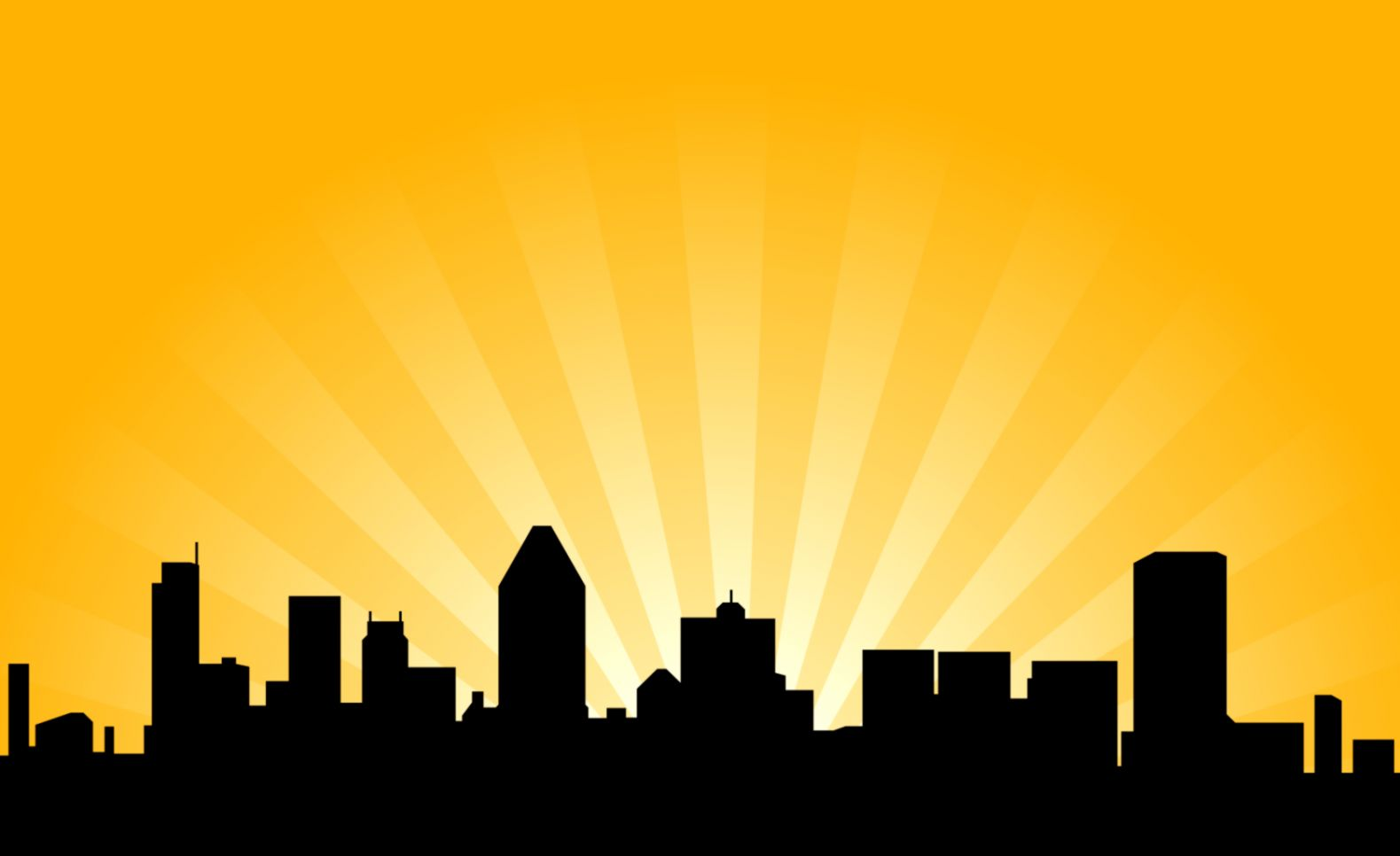 1579x966 Silhouette City Clipart Collection