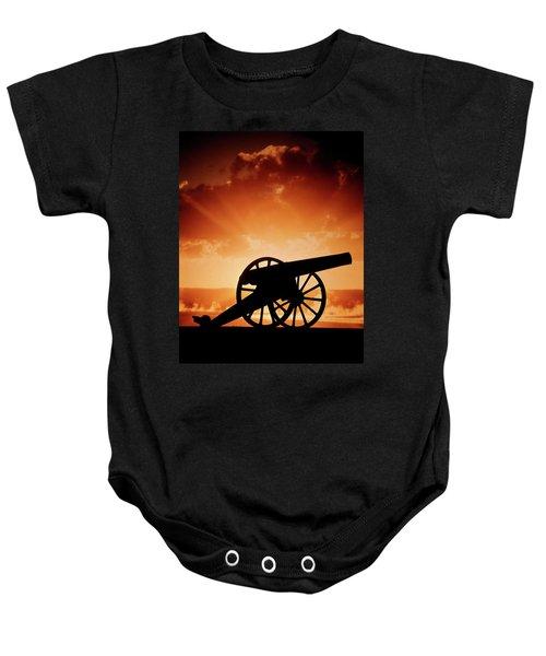 500x600 Civil War Cannon Baby Onesies Fine Art America