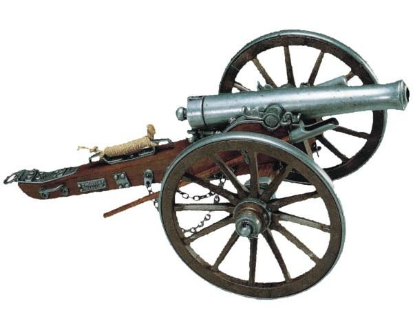 600x480 Civil War Cannon, Usa 1857 (38cm)