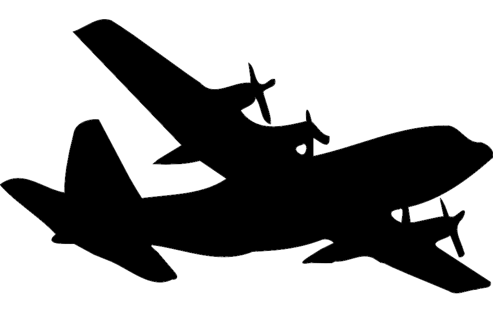 1002x633 C 130 Silhouette Dxf File Free Download