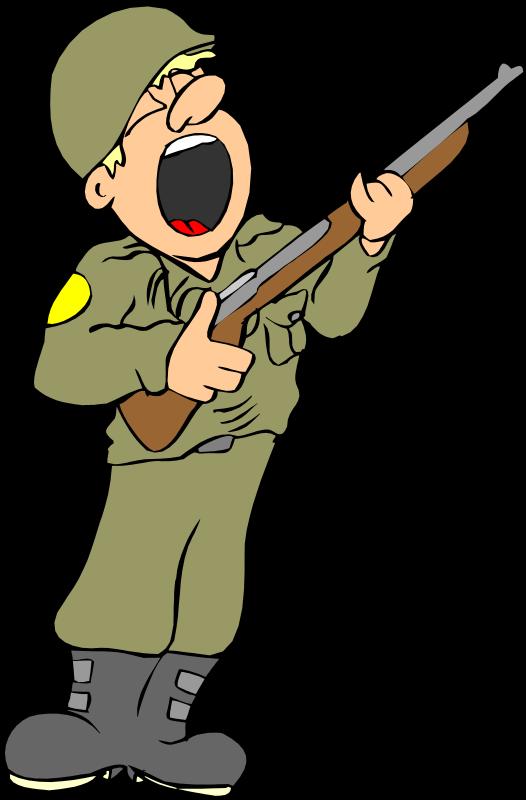 526x800 Free Clip Art Soldier