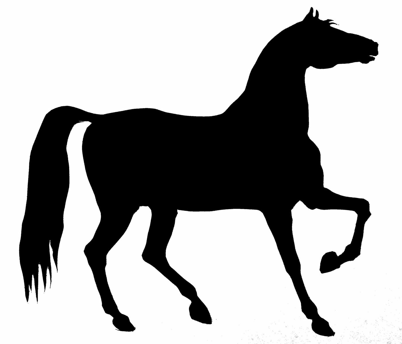 1400x1199 Free Horse Silhouette, Hanslodge Clip Art Collection