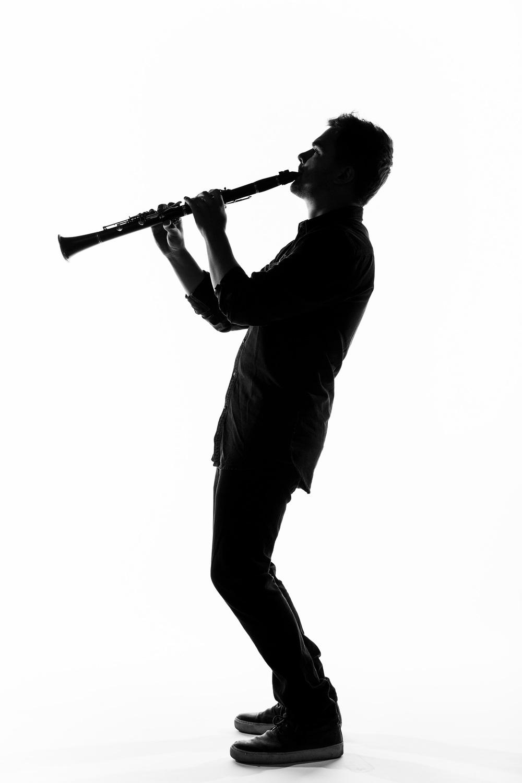 Clarinet Silhouette