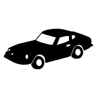 339x340 Free Silhouette Vector Toy, Car, Cart, Classic
