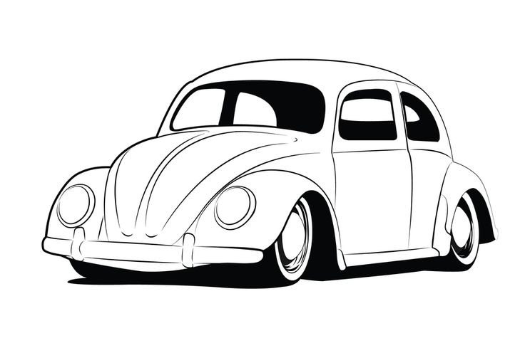 736x489 Line Drawing Of Old Cars Some Line Art