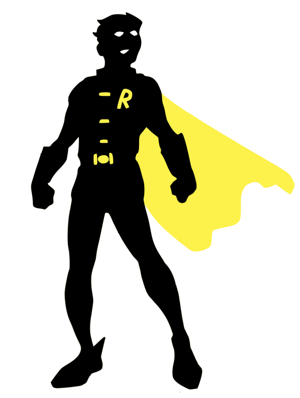 600x797 Robin Classic Silhouette By Viscid2007