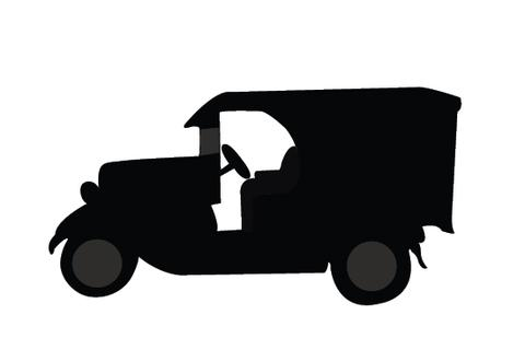 480x309 Vintage Classic Cars Silhouette Vector Silhouettes Vector