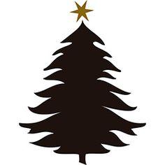 236x236 Christmas Tree Silhouette Silhouettes Christmas Tree