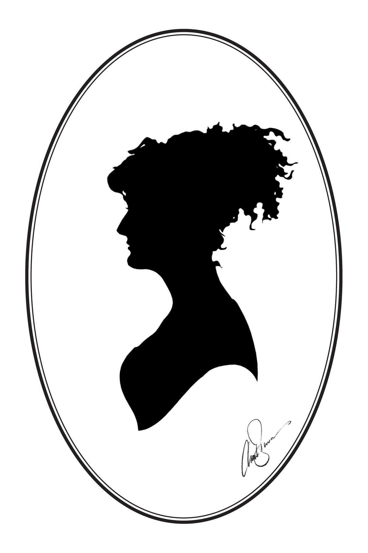 1200x1800 Classic Cameos Silhouettes And Parties The Roving Artist