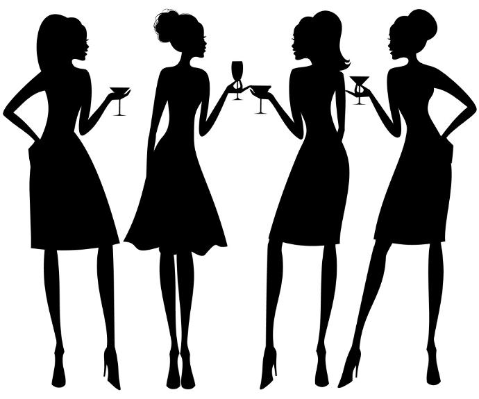 Classy Lady Silhouette