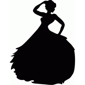 300x300 List Of Synonyms And Antonyms Of The Word Lady Silhouette