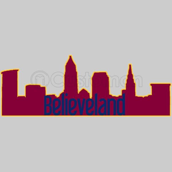 Cleveland Ohio Skyline Silhouette