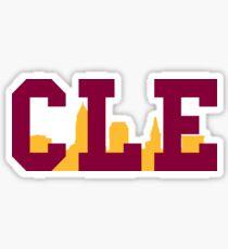 210x230 Cleveland Skyline Stickers Redbubble