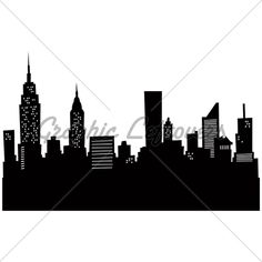 236x236 Extra Large New York Skyline Silhouette By Hilemanhouse On Etsy