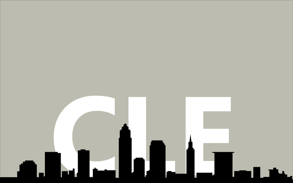 1024x640 Cleveland Skyline Wallpaper Hd Wallpapers
