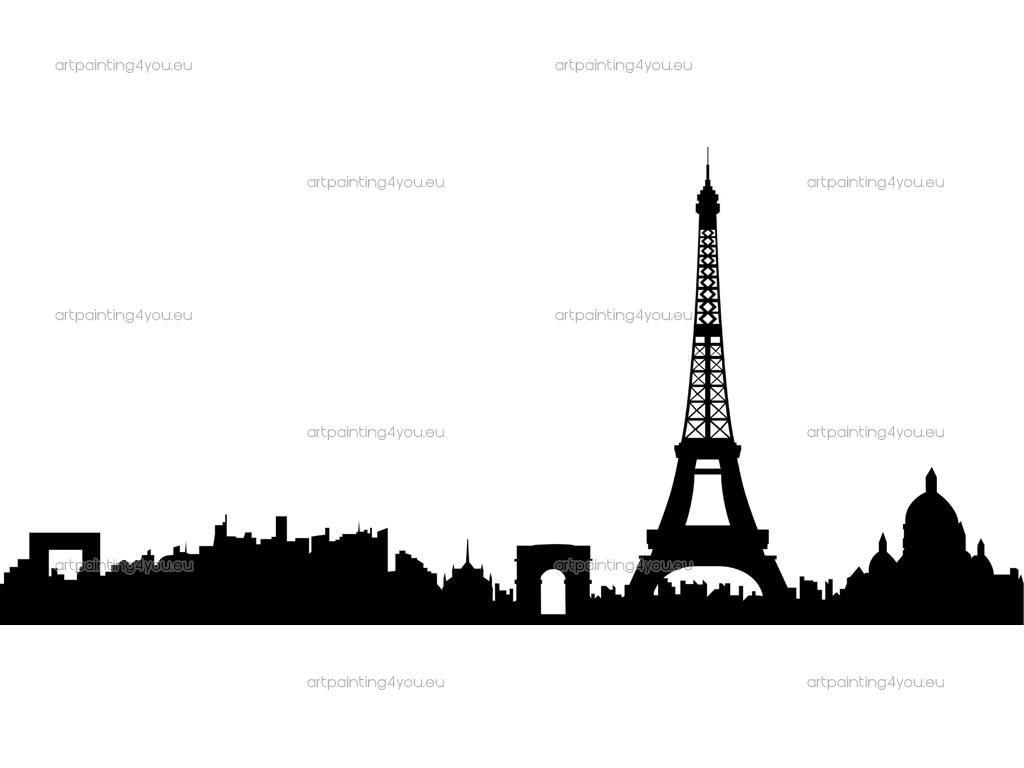 1024x768 Paris Skyline, Minus Nasty Mont Parnass (Sp) Paris Skyline