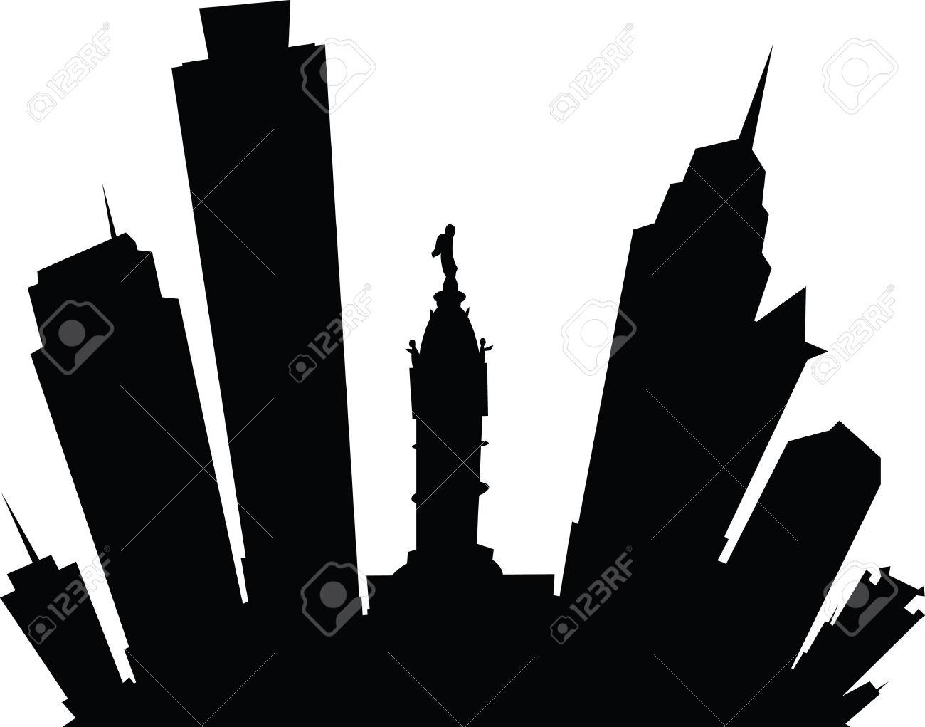1300x1021 Cityscape Clipart Philadelphia Skyline Many Interesting Cliparts