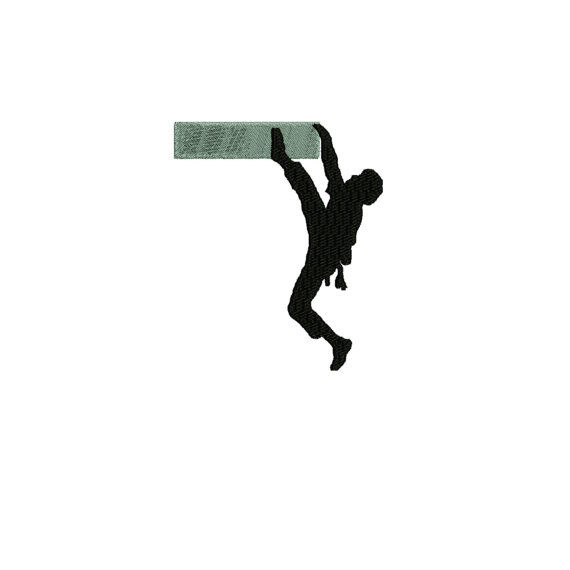 570x570 Dollar Off Sale Embroidery Design Rock Climber Silhouette