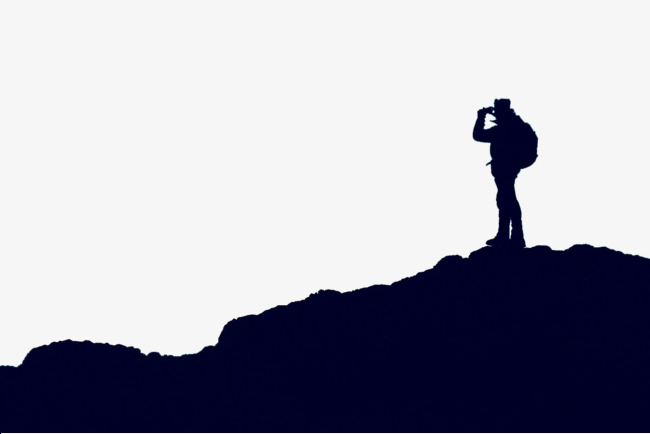 650x434 Climbing Away, Silhouette, Traveler, Walker Png Image And Clipart
