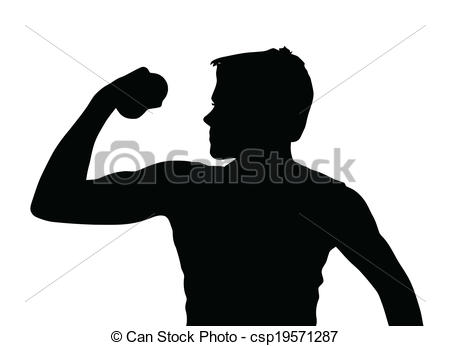 450x346 Teenage Boy Silhouette Clipart