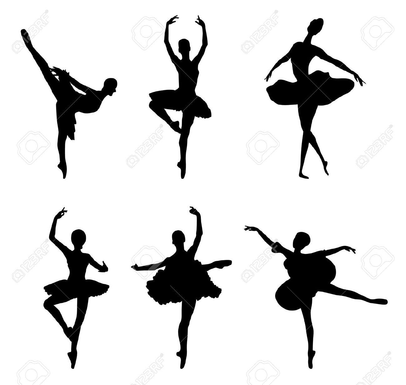 1300x1234 Ballerina Clip Art