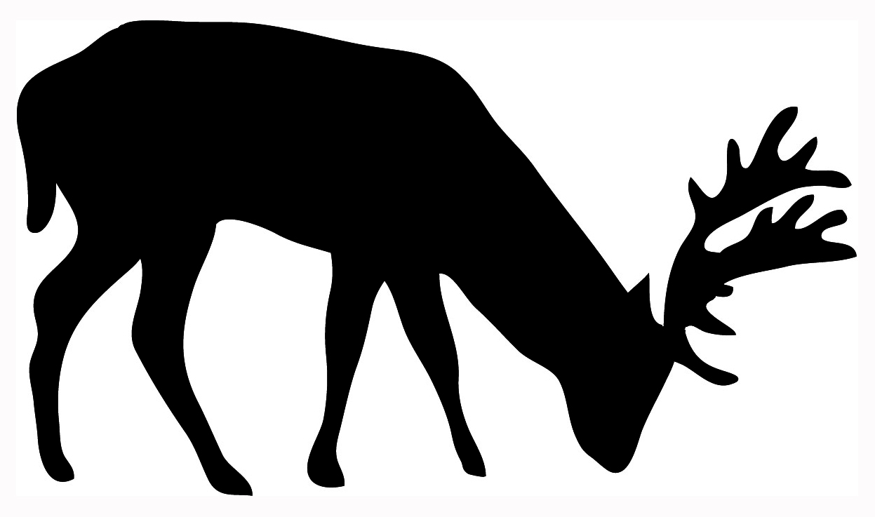 1247x737 Free Stag Silhouette, Hanslodge Clip Art Collection