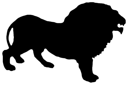 500x331 Jungle Animal Silhouette Clipart