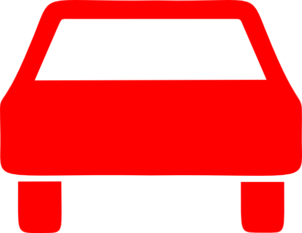600x464 Red Car Clip Art