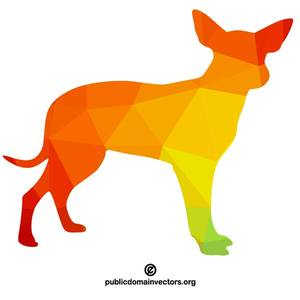Clipart Dog Silhouette