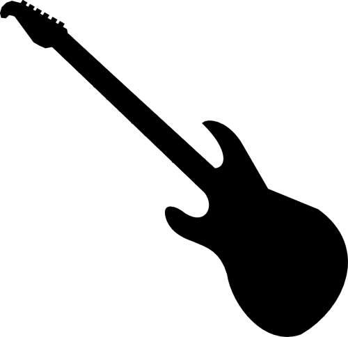clipart guitar silhouette at getdrawings com free for personal use rh getdrawings com guitar silhouette clip art free