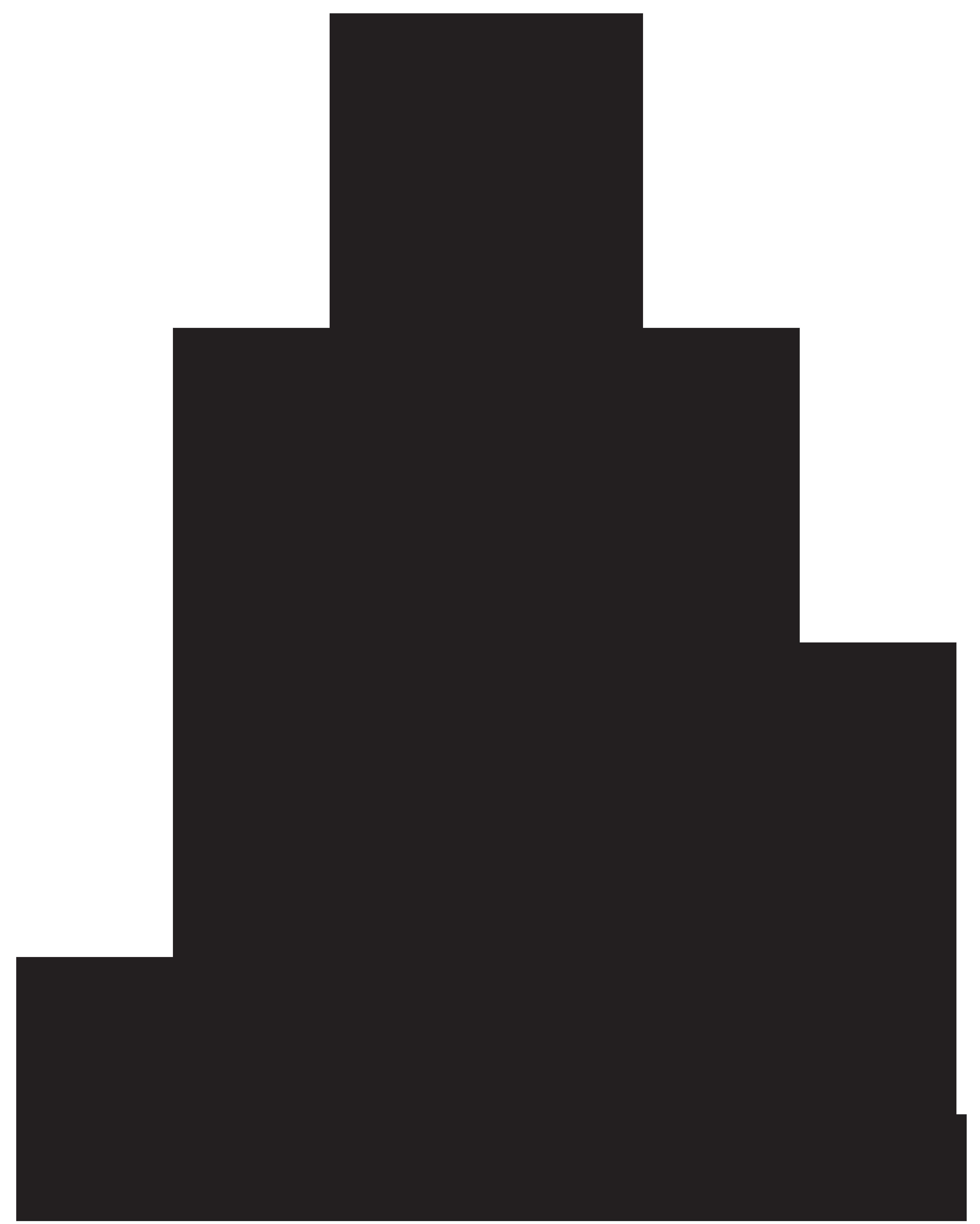 6404x8000 Buddha Silhouette Png Clip Art