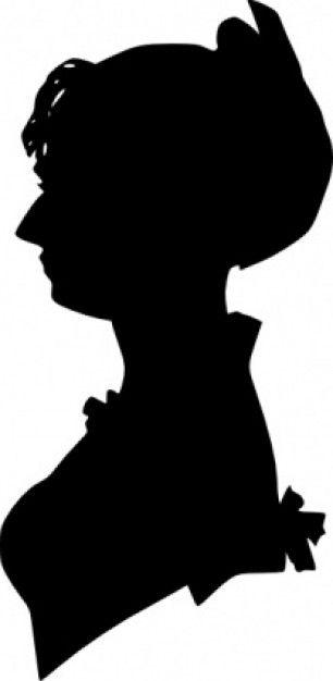 306x626 Lady Silhouette Clip Art Lady Silhouette Clip Art Download