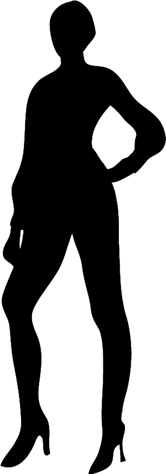 331x945 Silhouettes Of People