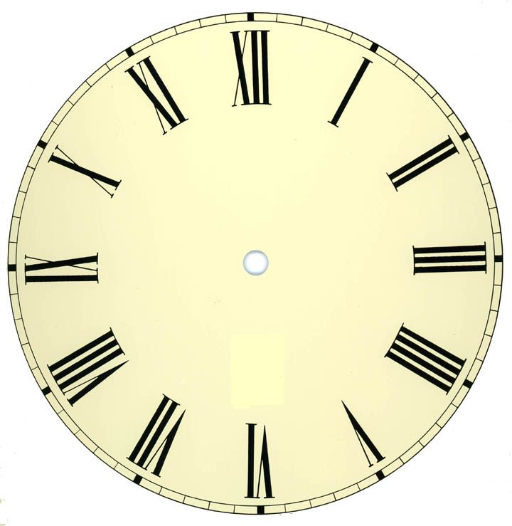 Clock Face Silhouette at GetDrawings com | Free for personal use