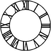 200x200 Clock Face
