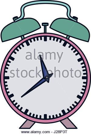 300x444 Pink Alarm Clock Vector Icon, Cartoon Style Stock Vector Art