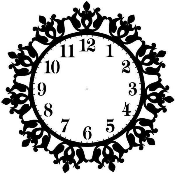 600x597 Saat Clock Testere Scroll Saw Testere Desenleri