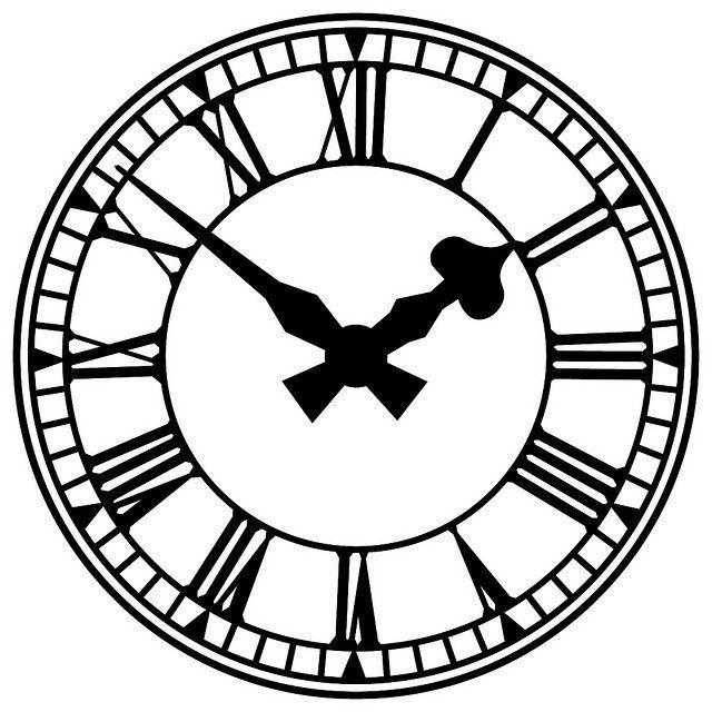 640x640 Similiar Clock Silhouette Keywords
