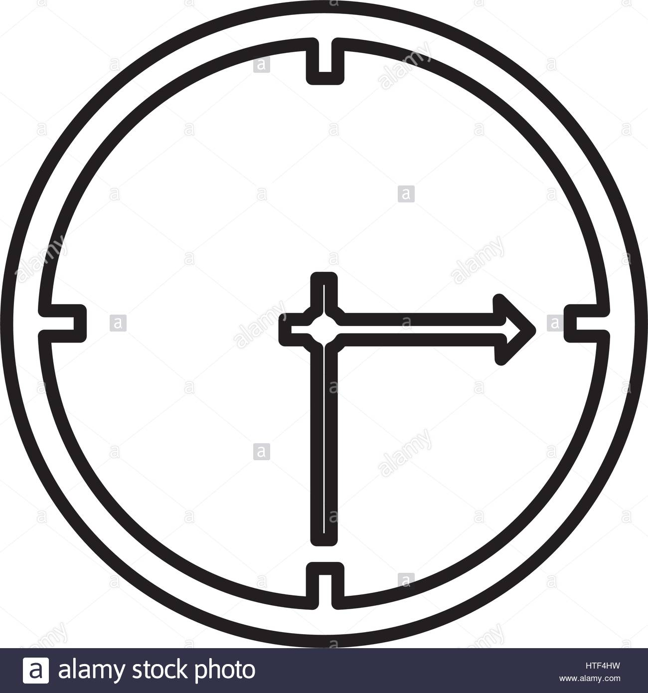 1300x1390 Silhouette Wall Clock Icon Stock Vector Art Amp Illustration, Vector