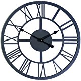 160x160 Whitehall Products Ivy Silhouette Clock, French Bronze