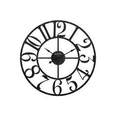 236x236 Bulova Silhouette Large Wall Clock, C4814