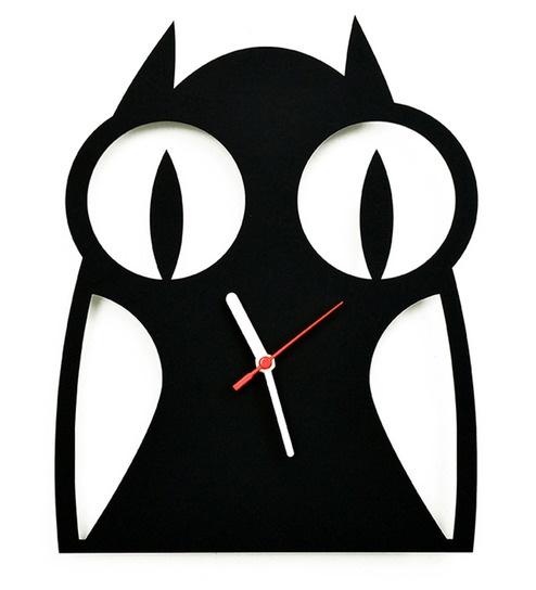 494x544 Buy Osaree Black Acrylic 7 X 14 Inch Owl Silhouette Nursery