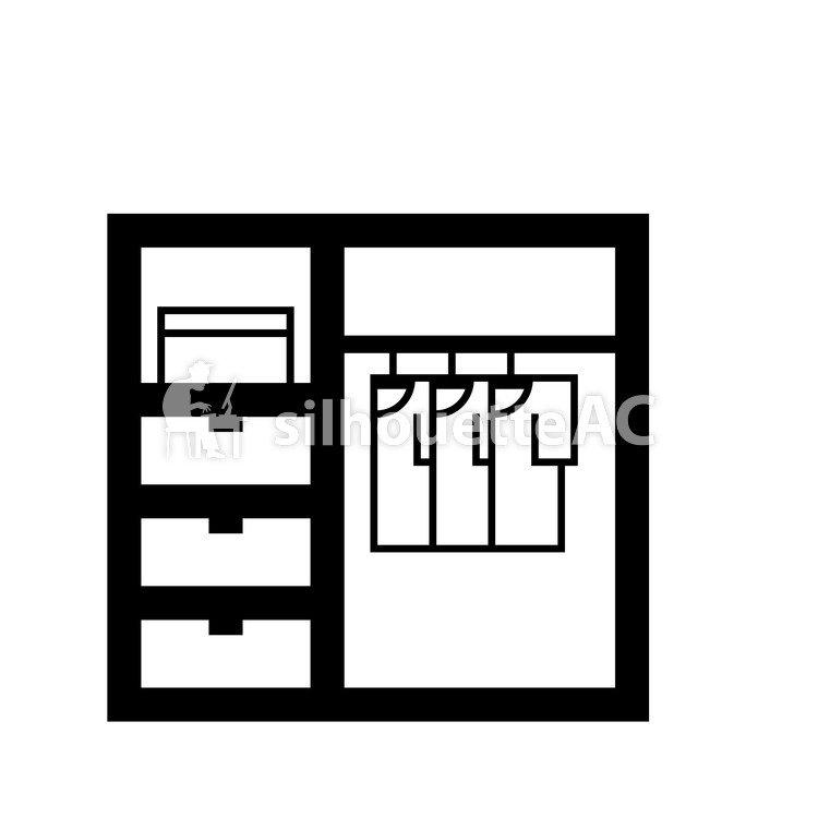 750x750 Siluet Gratis Ilustrasi, Interior, Lumaku Ing Lemari, Closet