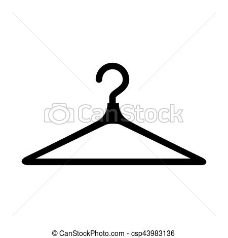 450x470 Clothes Hook Isolated Icon Vector Illustration Design Vectors